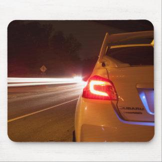 Subaru STi Tail Light Painting Mouse Pad