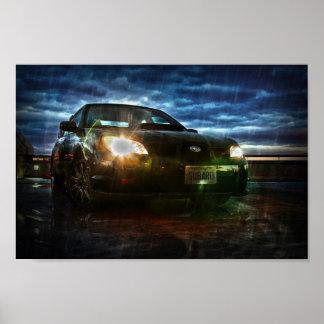 Subaru Storm Poster