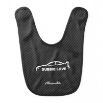 Subaru WRX Impreza STI - Subbie Love Baby Bib