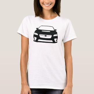 Subaru WRX STI Outline T-Shirt Dark
