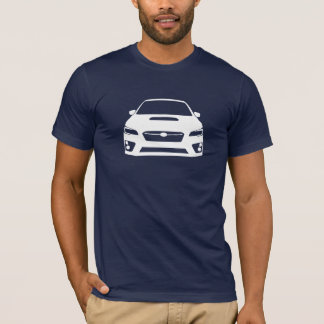 Subaru WRX STI Outline T-Shirt Dark Mens