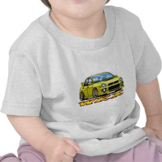 Subaru WRX_yellow T-shirts