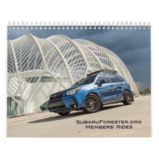 subaruforester.org Members' Rides Calendar
