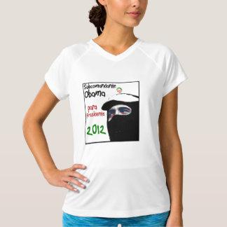 Subcomandante Obama para presidente 2012 T-Shirt