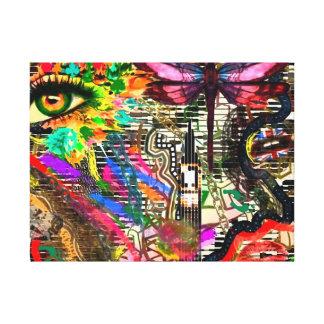 Subconscious Dreams Digital Collage by KEB Canvas Print