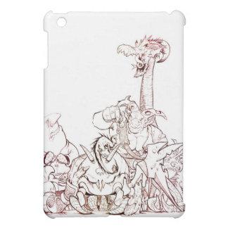 Subconscious Fantasy Critters iPad Mini Covers