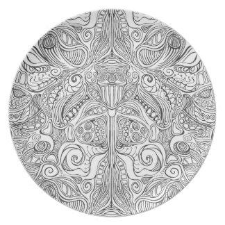 Subconscious Garden Plate