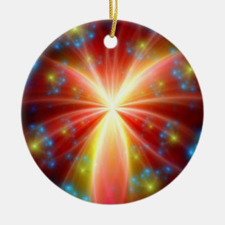 Subconscious Double-Sided Ceramic Round Christmas Ornament