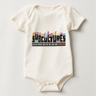 Subcultures Best of the East Bay Party Baby Bodysuit