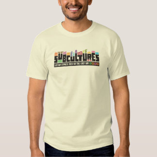Subcultures Best of the East Bay Party Tshirts