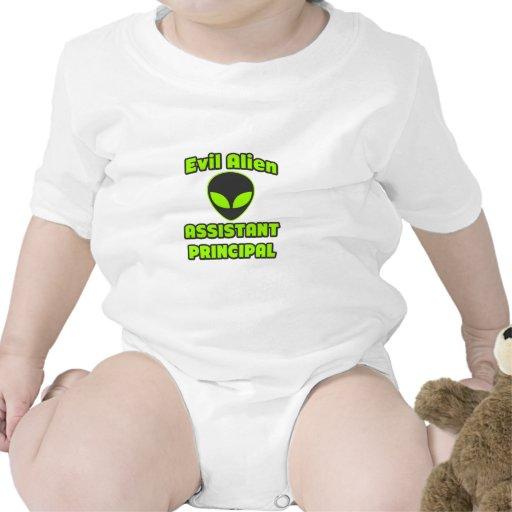 Subdirector extranjero malvado traje de bebé