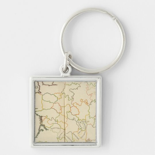 Subdivision of France Keychain