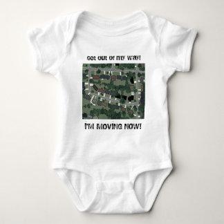 "Subdivision Tango - Infant ""Moving"" Baby Bodysuit"