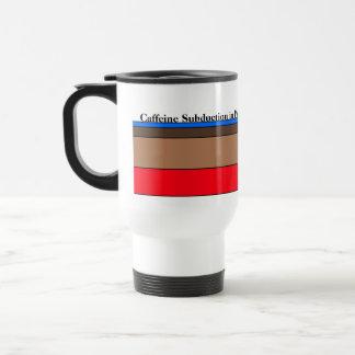 Subducción del cafeína en curso taza de viaje de acero inoxidable