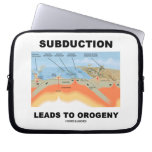 Subduction Leads To Orogeny (Plate Tectonics) Computer Sleeve