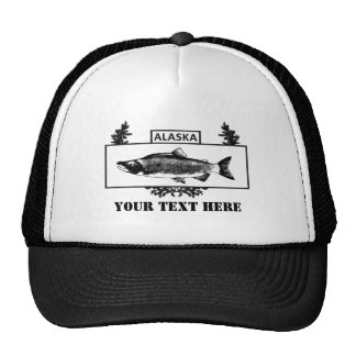 Subdued Alaska Combat Fisherman Badge Trucker Hat