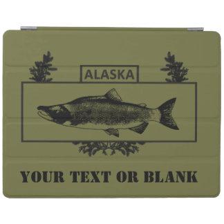 Subdued Alaska Combat Fisherman Badge iPad Cover