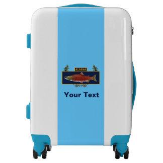 Subdued Alaska Combat Fisherman Badge Luggage