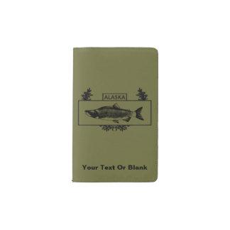 Subdued Alaska Combat Fisherman Badge Pocket Moleskine Notebook