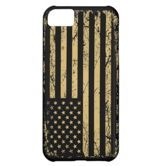 Subdued American Flag Case For iPhone 5C