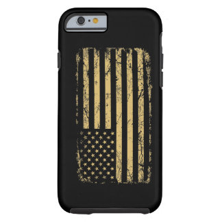 Subdued American Flag iPhone 6 Case