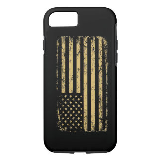 Subdued American Flag iPhone 7 Case