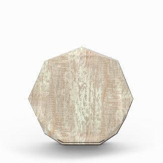 Subdued Coastal Pine Wood Grain Look Acrylic Award
