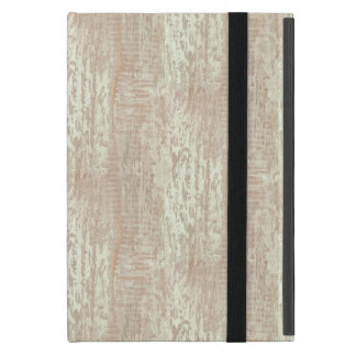 Subdued Coastal Pine Wood Grain Look Case For iPad Mini