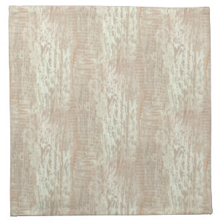 Subdued Coastal Pine Wood Grain Look Cloth Napkin