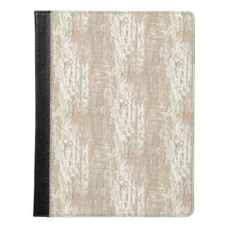Subdued Coastal Pine Wood Grain Look iPad Case