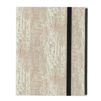 Subdued Coastal Pine Wood Grain Look iPad Folio Case
