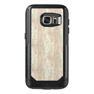 Subdued Coastal Pine Wood Grain Look OtterBox Samsung Galaxy S7 Case