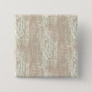Subdued Coastal Pine Wood Grain Look Pinback Button