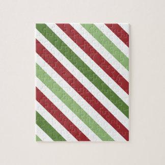 Subdued Dark Stripes Jigsaw Puzzle