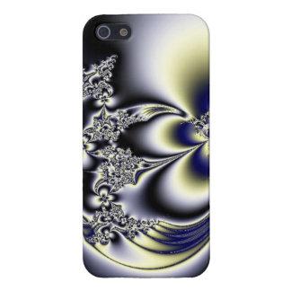 Subdued Floral Fractals Case For iPhone SE/5/5s