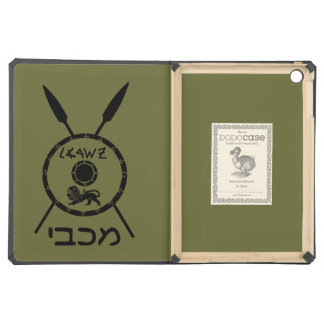 Subdued Maccabee Shield And Spears iPad Air Covers