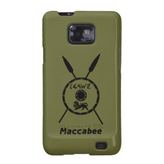Subdued Maccabee Shield And Spears Samsung Galaxy SII Cases