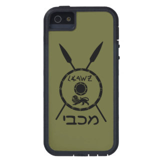 Subdued Maccabee Shield And Spears iPhone 5 Covers