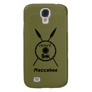 Subdued Maccabee Shield And Spears Samsung Galaxy S4 Case