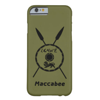 Subdued Maccabee Shield And Spears iPhone 6 Case