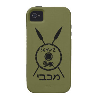 Subdued Maccabee Shield And Spears iPhone 4/4S Cover