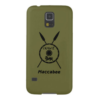 Subdued Maccabee Shield And Spears Galaxy S5 Case