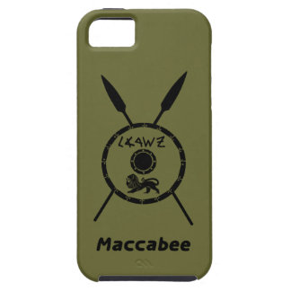 Subdued Maccabee Shield And Spears iPhone 5/5S Covers