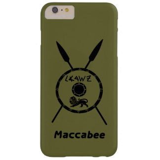 Subdued Maccabee Shield And Spears iPhone 6 Plus Case
