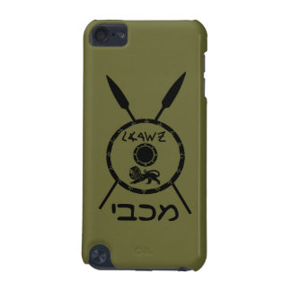 Subdued Maccabee Shield And Spears iPod Touch 5G Case