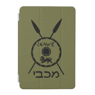 Subdued Maccabee Shield And Spears iPad Mini Cover