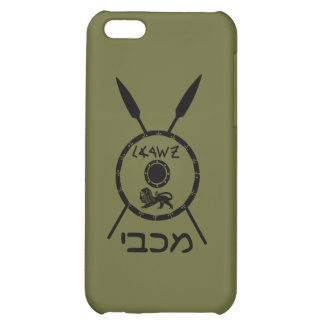 Subdued Maccabee Shield And Spears iPhone 5C Covers