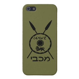 Subdued Maccabee Shield And Spears iPhone 5/5S Cover