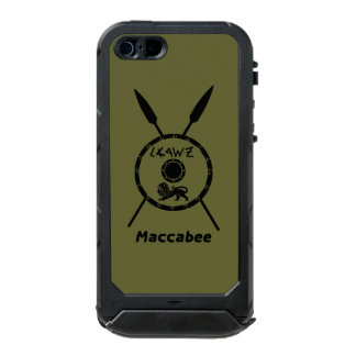 Subdued Maccabee Shield And Spears Incipio ATLAS ID™ iPhone 5 Case