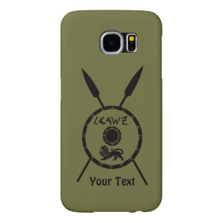 Subdued Maccabee Shield And Spears Samsung Galaxy S6 Cases
